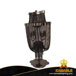 Home modern black chain table lamp(KA618)
