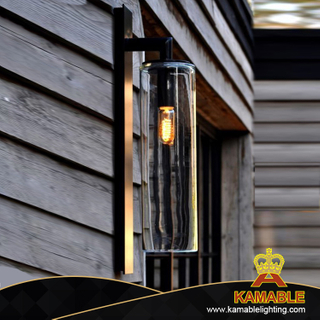 Outdoor Waterproof Stainless Steel Glass Wall Lighting (KAB1903)