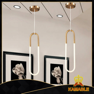 Modern iron glass hanging lights (KA9185P/S)