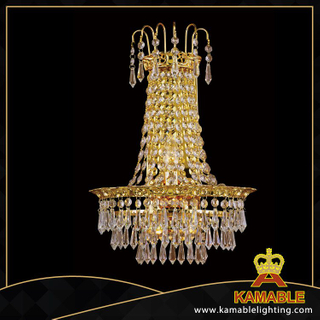 Eight-angle beads crystal decorative hotel wall lamps(YHwb2534-L3)