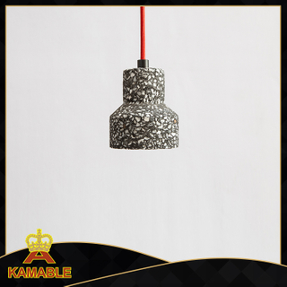 Simple style terrazzo decorative hotel pendant lamp (KC161P-1)