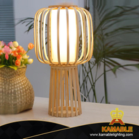 Hot Sale Home Lighting Bamboo Decoration Table Lamp (KAL301-2)