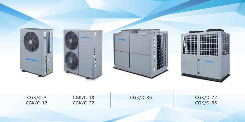 Air to Water Heat Pump Models