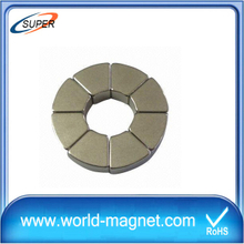 High Quality N50 Arc Neodymium Magnet