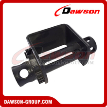 Weld on Winch - Double Cap - Flatbed Truck Winches for Cargo Lashing Straps