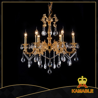 Brilliant indoor decorative cast aluminum chandelier(9120-6+6L )