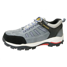 RB1050 suede leather rubber sole sporty safety shoe for workshop