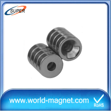 High Performance Strong Neodymium Ring Magnet for sale