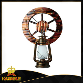 Windmill design indoor decorative wood wall lighting (KAMB - 7156)