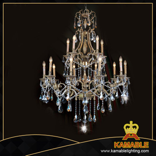 Hotel project Brass with crystal Classical pendant chandelier(WD1101-6)