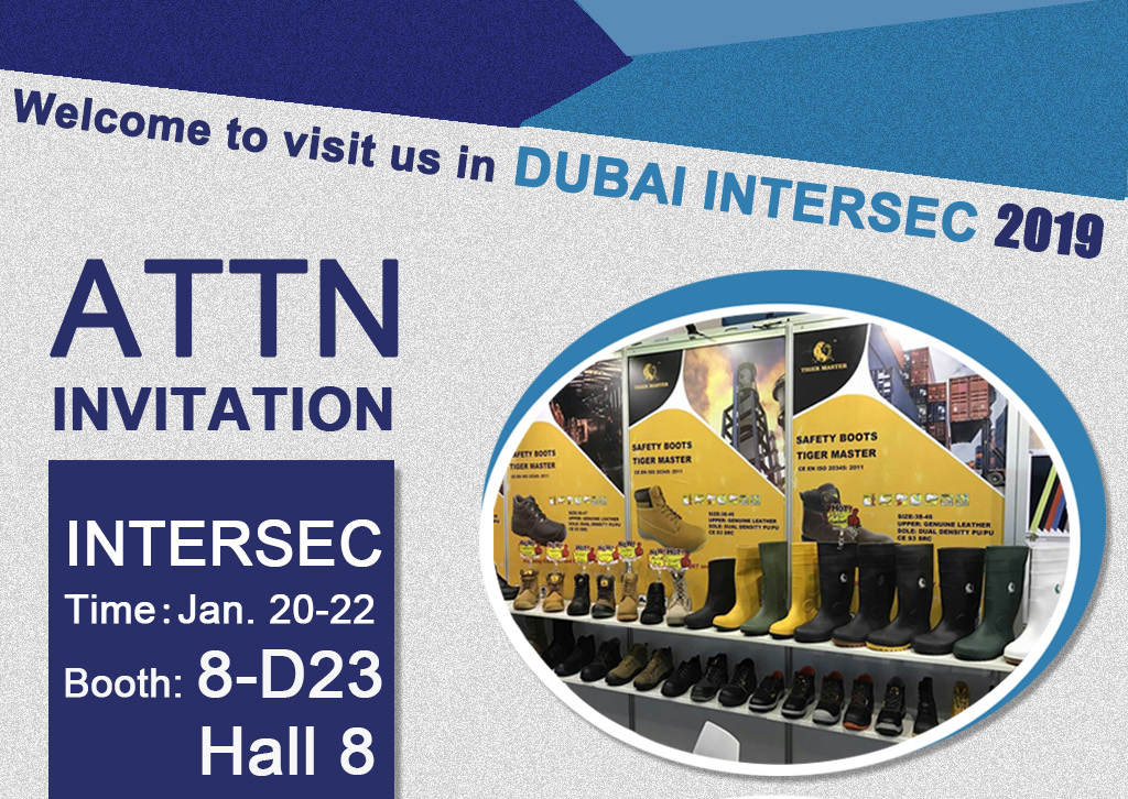 2019 Dubai Intersec Invitation