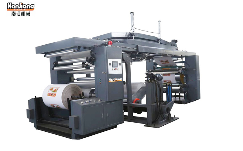WX-4/6 Four / Six Color CI Flexo Printing Machine
