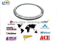 World Famous Global Hot Sale Xuzhou Wanda Four Point Contact Ball Turntable Slewing Ring Bearing