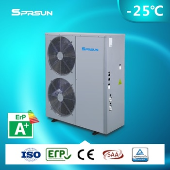 Minus 25 Degree Low Temperature EVI Heat Pump