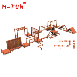 Outdoor wooden entertainment equipment