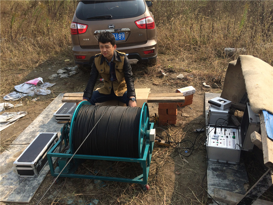 TLS Technologies Borehole Inspection Camera Application Case-Jiangsu zhouzhuang logging field-04