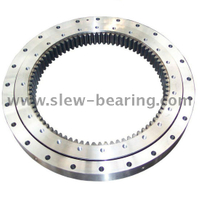 Four-Point Contact Ball slewing ring bearings for mining shovels