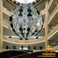 Simple Design Hotel Project Ball LED Decor Pendant Lighting (KAMD1300A-6)