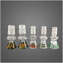 14mm 19mm color mushroom head hookah pipe fittings