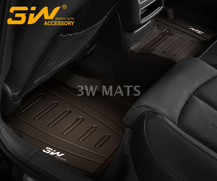 TPE car mat for AUDI A6L