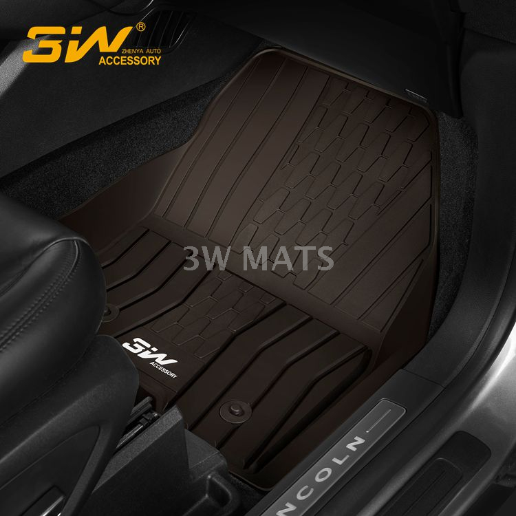 TPE car mat for Lincoln MKZ
