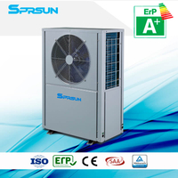 3P 75 ℃ Hot Water High Temperature Air Source Heat Pump Heating