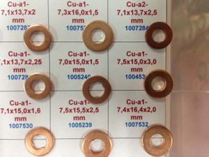 Copper/Aluminiom Washer Gasket