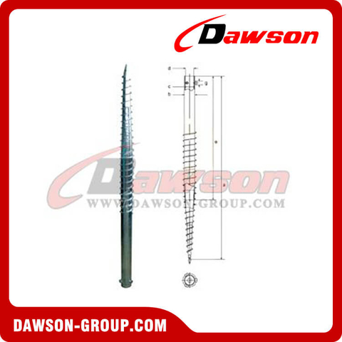 DSb04 N65×1800 Earth Auger N Ground Pile Series