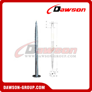 DSb15 F88.9×1600×220 Earth Auger F Ground Pile Series