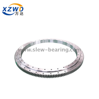 Single Row Ball Double Row Ball Ladle Turret Slewing Bearing with External Gear