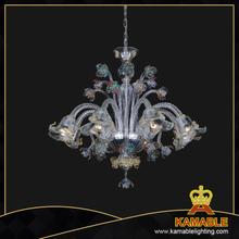 Murano style hotel decorative lighting clear color murano style hanging dining room murano glass chandelier81122 8 aloadofball Gallery