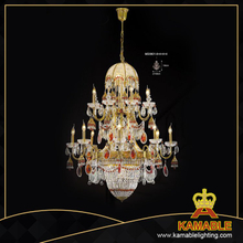 Beautiful Brass with crystal Luxury chandelier (MD09018+4+4+4)