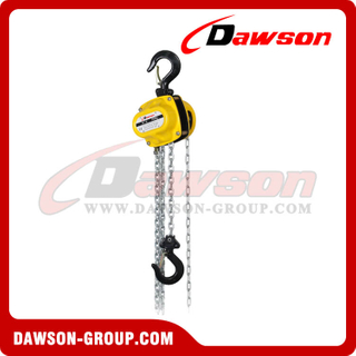 DS-DF-B25 250kg Mini Type Chain Blocks, Chain Hoist for Installing of Machinery