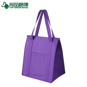 New design insulated non woven grocery tote bag shoulder cooler bag (TP-CB540)