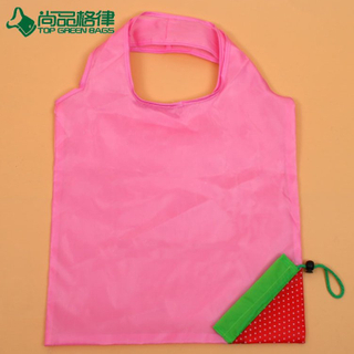 Factory Price lovely Foldable Fruit Bag Tote Integrated Foldable Pouch (TP-FB206)