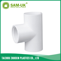 PVC female tee for water supply Schedule 40 ASTM D2466