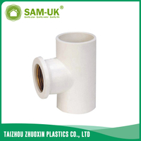 PVC copper female tee for water supply GB/T10002.2
