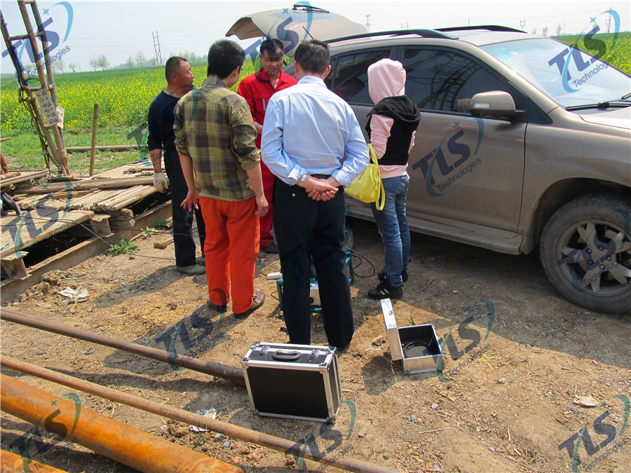 TLS Technologies Borehole Inspection Camera Application Case-Shandong Zhengyuan logging field-02