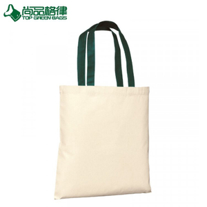 Wholesale Canvas Budget Tote Shopping Bag Cotton Shoulder Carrier Bag (TP-SP684)