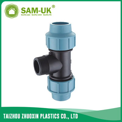 PP male tee for irrigation water