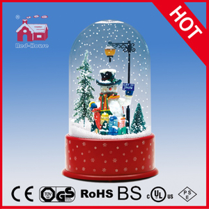 (P23036G) Delicate Snowman Christmas Gift LED Decoration