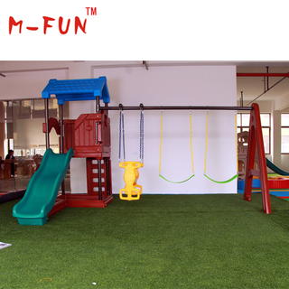 Plastic outdoor play equipment