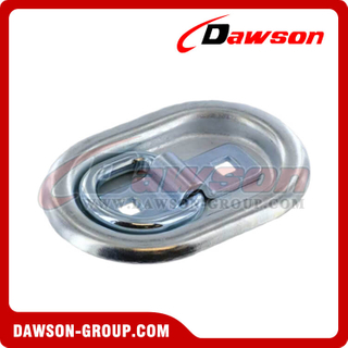 PPE-20 300kgs/660lbs Recessed Pan Fitting, Oval Anchoring Fitting Single
