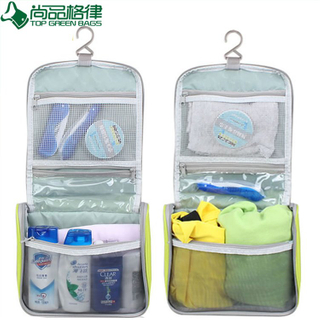 Fashion Polyester Cosmetic Bag Ladies Bag (TP-COB025)