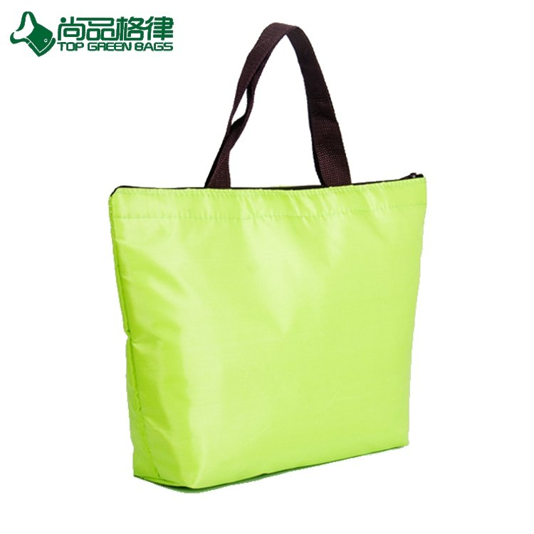 Personalized Lightweight Camping Ice Bag Insulated Shopping Cooler Bag Tote (TP-CB516)