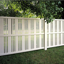 Vinyl Semi-Privacy Fence DY105