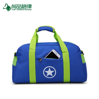 Promotion High Quality Custom Simplicity Polyester Waterproof Duffel Bag Sport Travel Bag Carrying Case