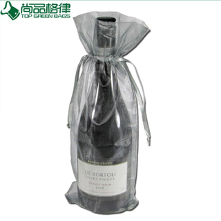Organza Jewelry Gift Pack Christmas Organza Wine Bag Gift Drawstring Pouch