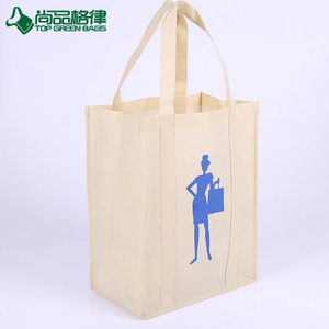 Promotion cheap non woven tote bag eco shopping grocery bags (TP-SP665)