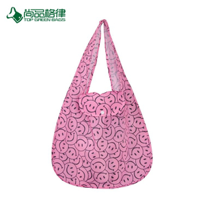 High Quality Custom Pattern Nylon Folding Shopping Bag